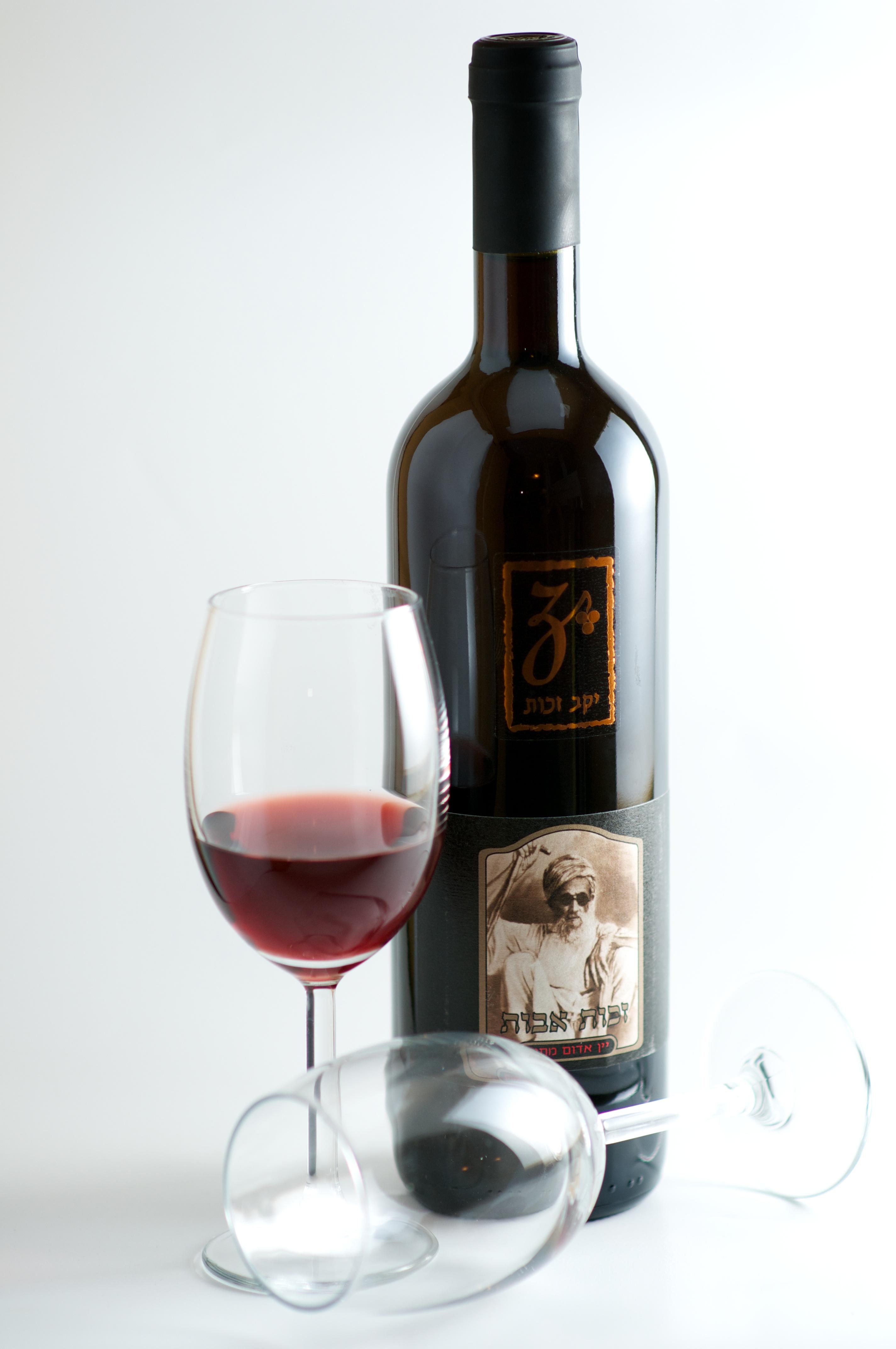 זכות אבות - יין אדום מתוק